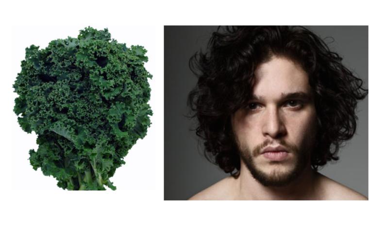 14 Heads of Kale that look like Kit Harrington
