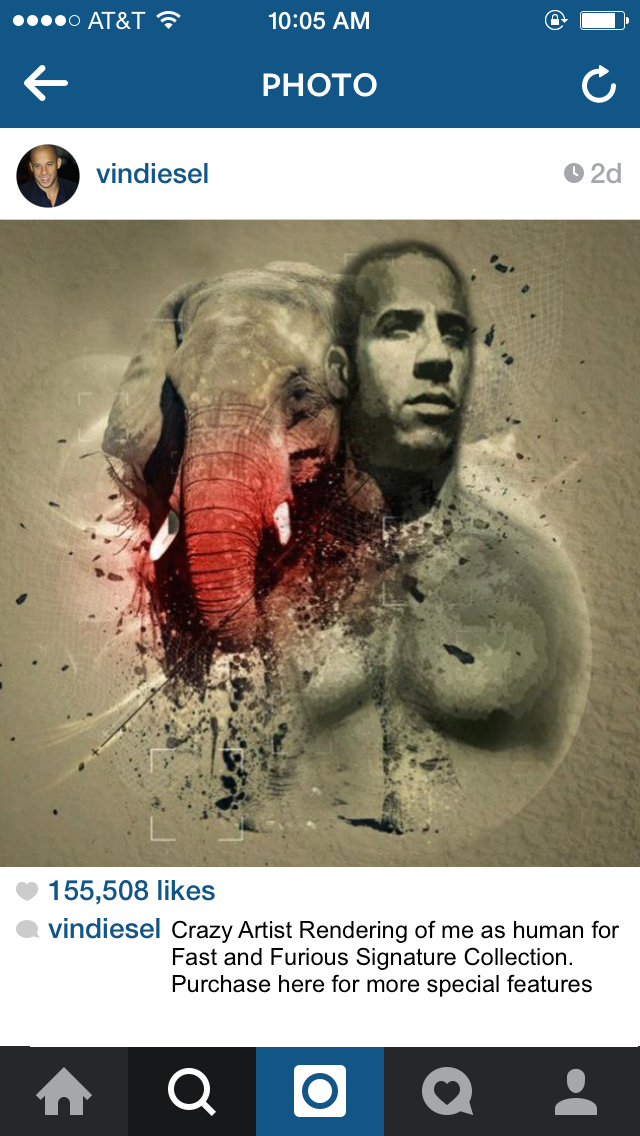 14 Instagram Photos Vin Diesel Would Post If He Thought He
