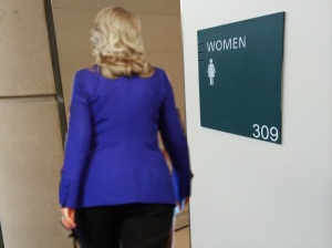 Hillary Clinton playing Gender Card